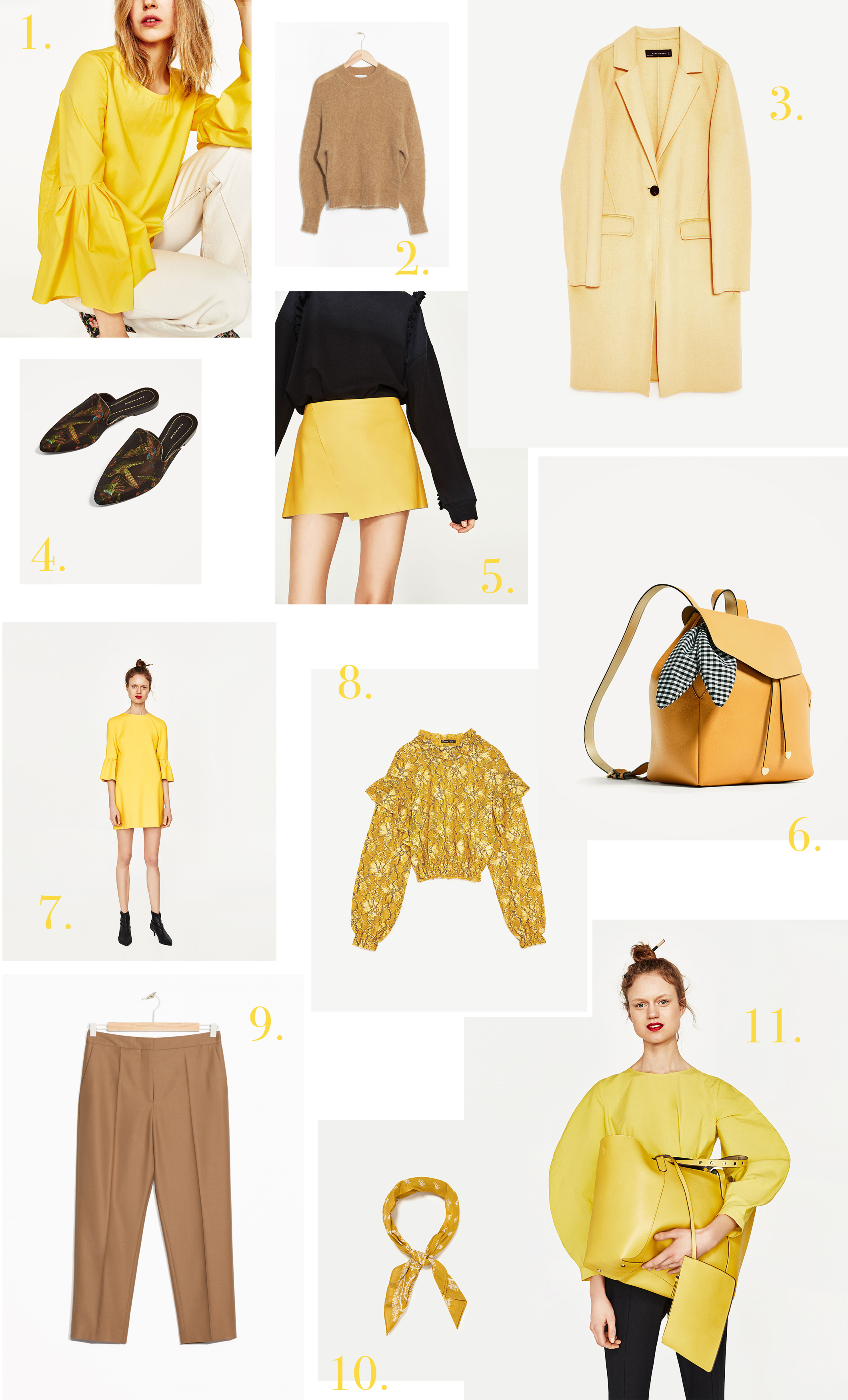 ZARA yellow1