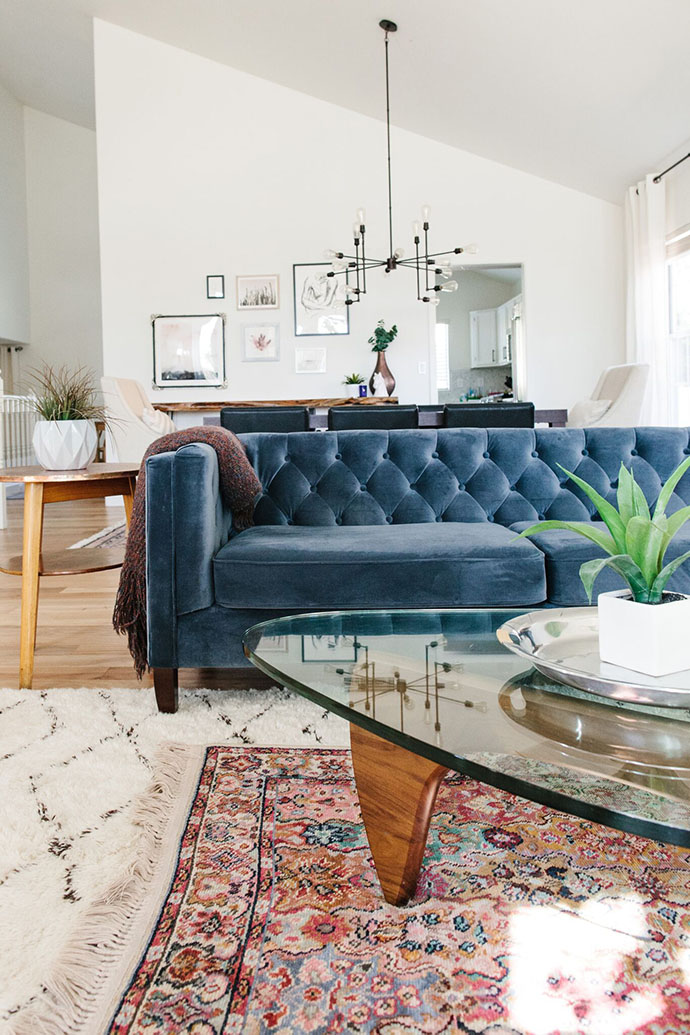 Dreaming Of A Blue Velvet Couch Polienne