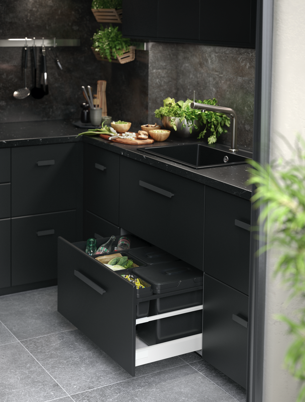 wishlisted kungsbacka by ikea discover our current kitchen polienne. Black Bedroom Furniture Sets. Home Design Ideas